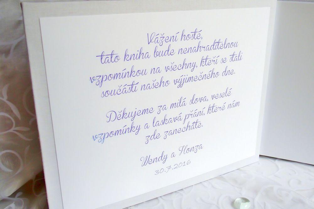 JITKA... Levandulová kniha hostů