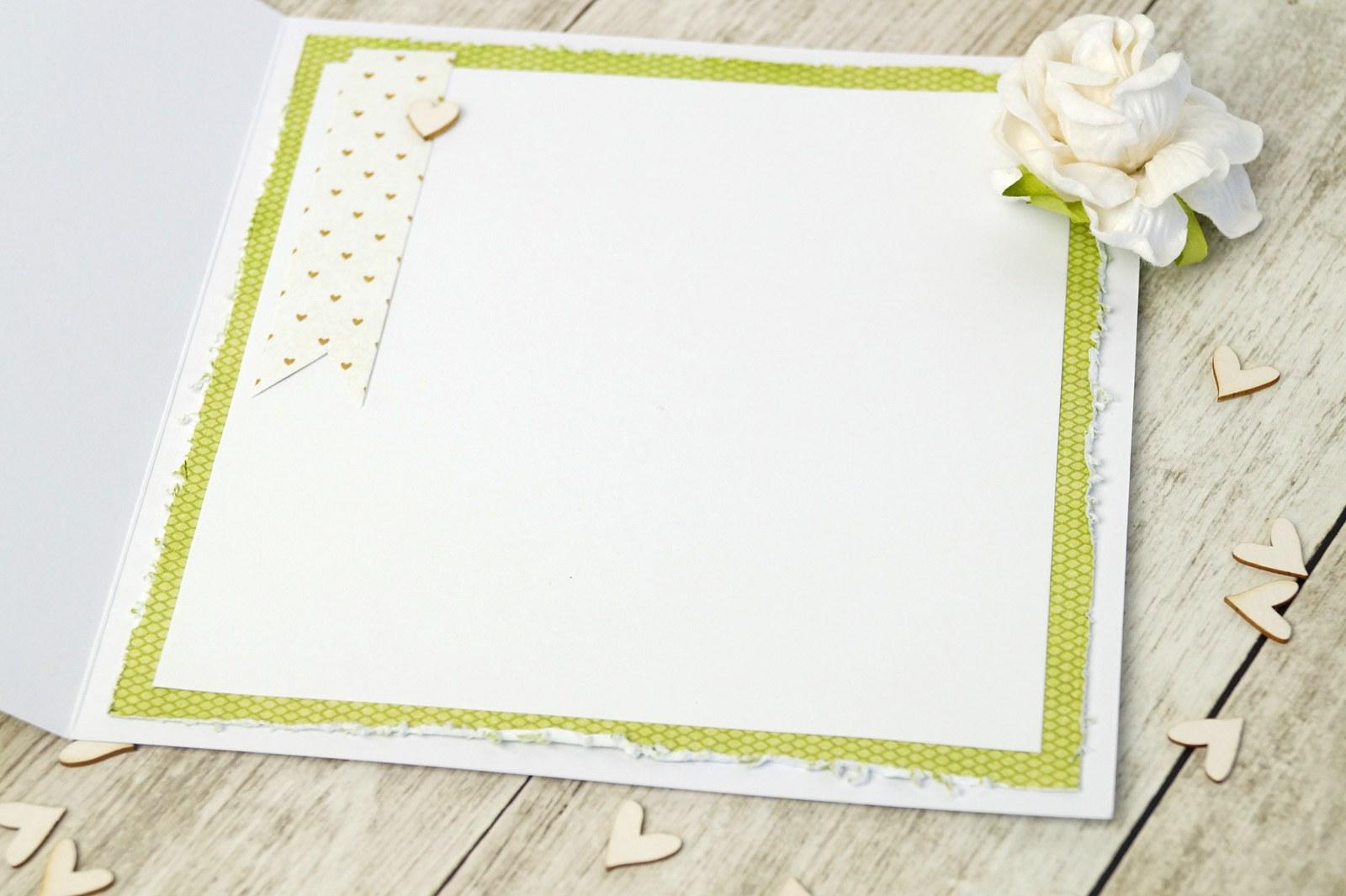 WEDDING CARD - Rozkvetlé srdíčko