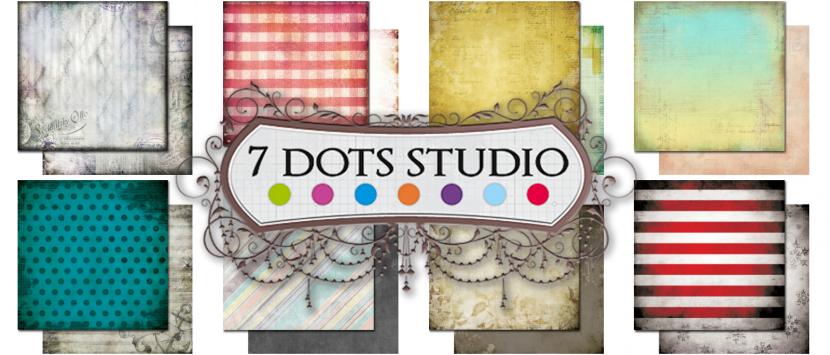 NOVINKY... Sady papírů od 7 Dots Studio