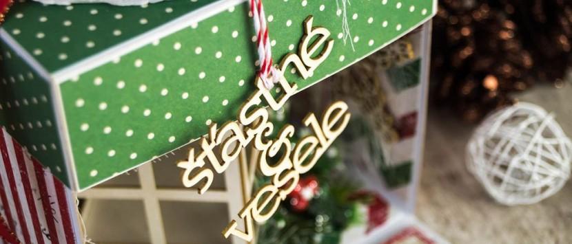 DIANA... Vánoční exploding box + KURZ