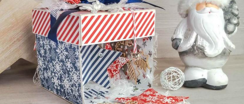 DIANA... Christmas Star Exploding Box