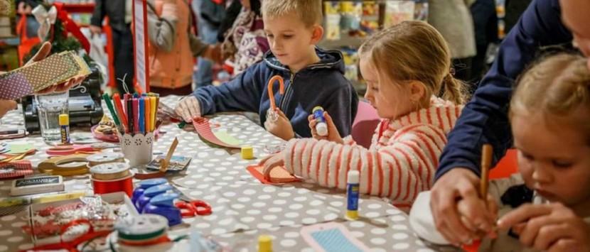 REPORTÁŽ... Vánoční workshop v Hamleys