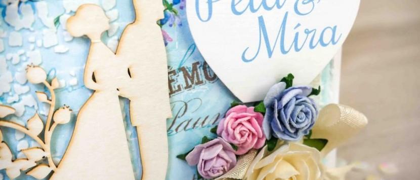 DIANA... Svatební gratulace s růžičkami