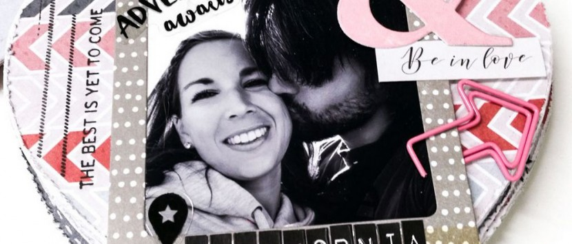 DIANKA... Valentýnské minialbum ve tvaru srdce