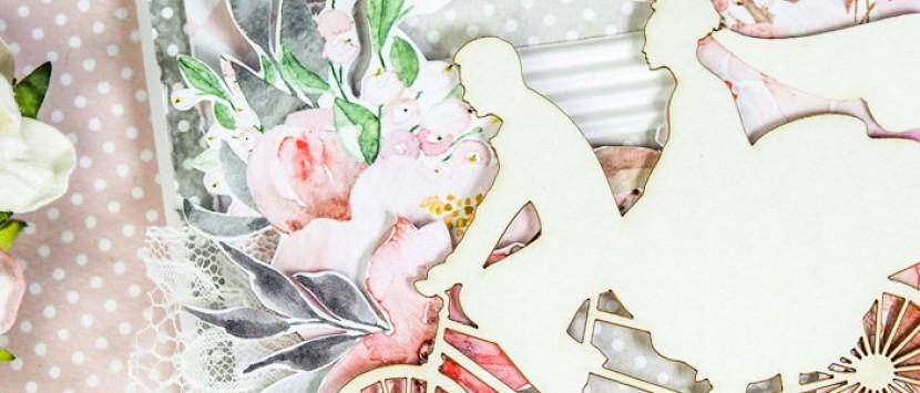 DIANKA... Svatební přáníčko z kolekce Love In Bloom