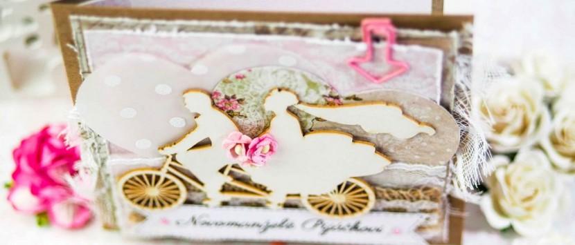 DIANKA... Svatební přáníčko pro cyklisty
