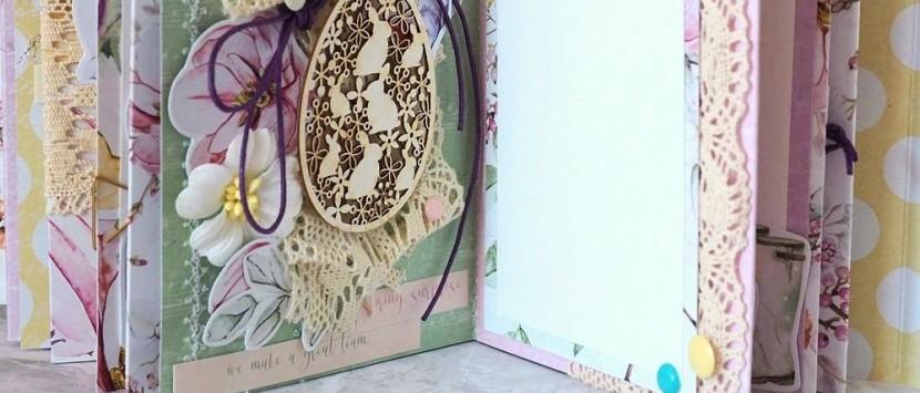 ERIKA... VIDEO: Jarní album s jehlou v ruce