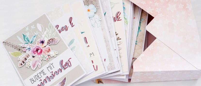 HOST V PAPER GARDEN... Ája a její milníkové kartičky