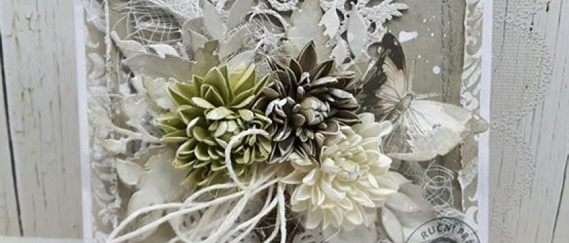 LUCKA... VIDEONÁVOD: Výroba chryzantémek z foamiranu
