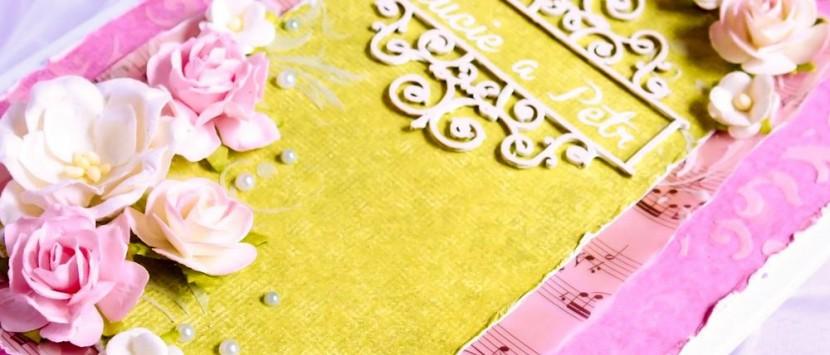 JITKA ... Svatební gratulace s kapsičkou na peníze a CD