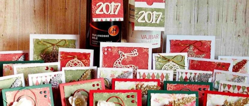 JITKA... Visačky a vánoční čelenka z kitu