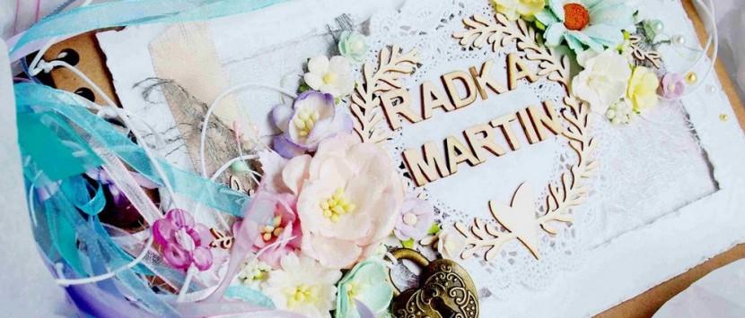 JITKA... Rozkvetlá svatební kniha hostů