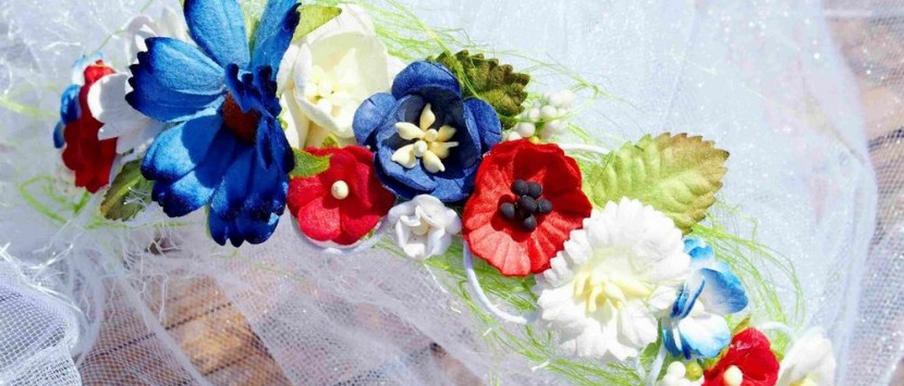 JITKA... Květinový závoj pro budoucí nevěstu