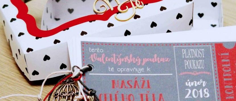 JITKA... Valentýnské poukázky v krabičce
