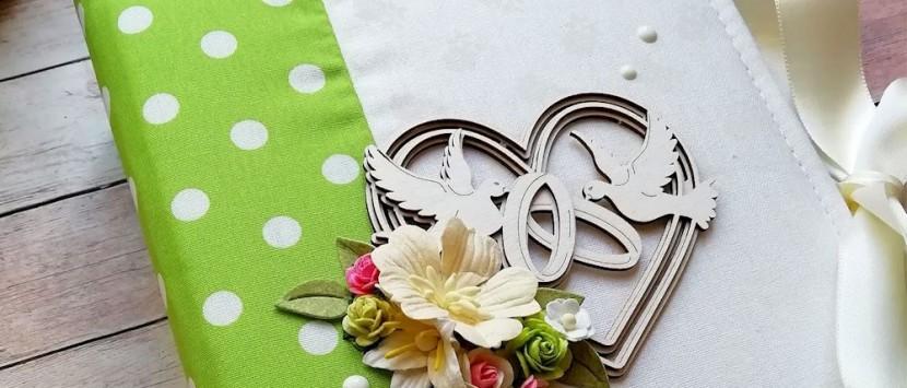 LUCIA... Svadobná kniha hostí v jarnom kabáte