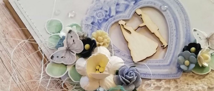 LUCIA... Svadobné prianie v modrom