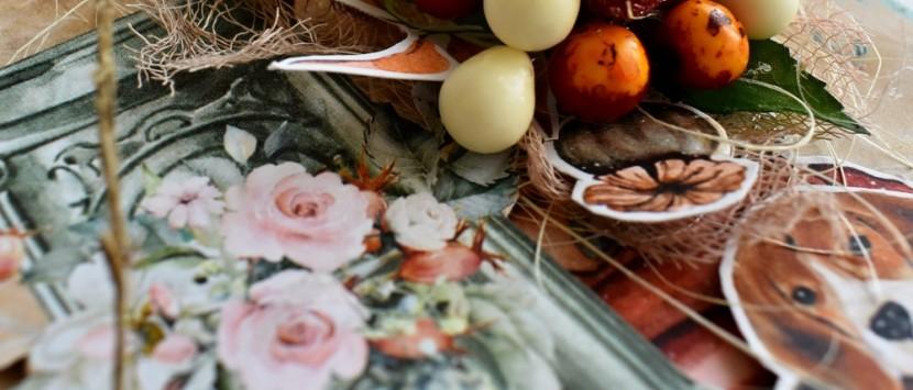 MILUŠKA... VIDEONÁVOD: Podzimní přání s bobulemi