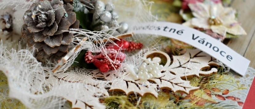 MILUŠKA... VIDEONÁVOD: Vánoční přání se šiškami