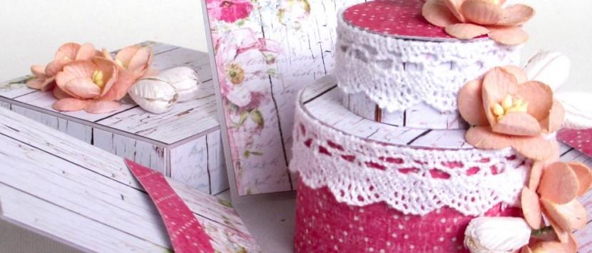 MÍŠA ... Svatební exploding box