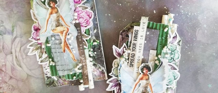 MÍŠA... Visačky s vílami z kolekce Aurora