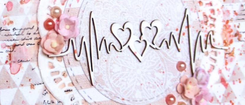 MÍŠA... Valentýnská přáníčka a minibloček
