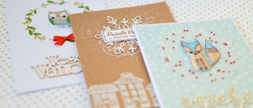 MONČA... První vánoční vlaštovky aneb jak si narazítkovat vánoční přání