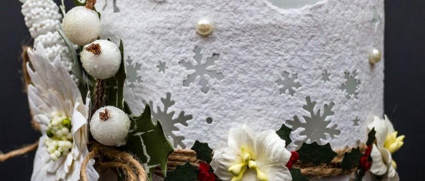 TIMONA... Vianočný svietnik / Vánoční svícen