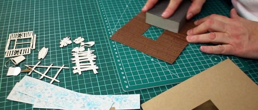 TIMONA... VIDEONÁVOD: Personalizovaná pánska karta/přáníčko