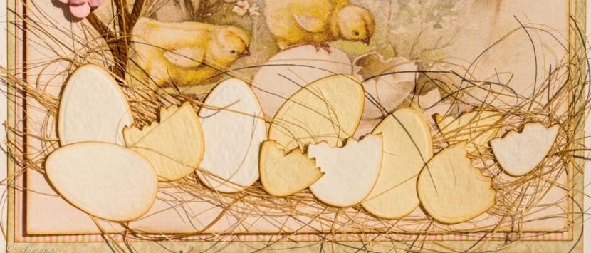 TIMONA... Vajíčka, škrupinky a veľkonočné pozdravy