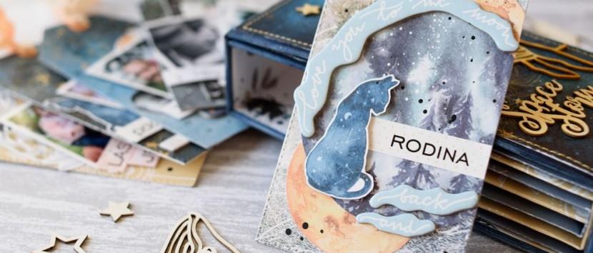 PETRA... FOTONÁVOD: Vesmírné visačkové minialbum