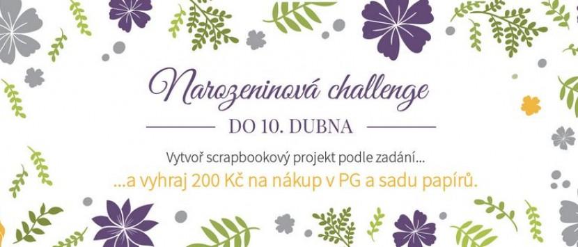 Narozeninová challenge