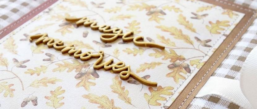 VIPETA... VIDEONÁVOD: Podzimní šitý zápisník