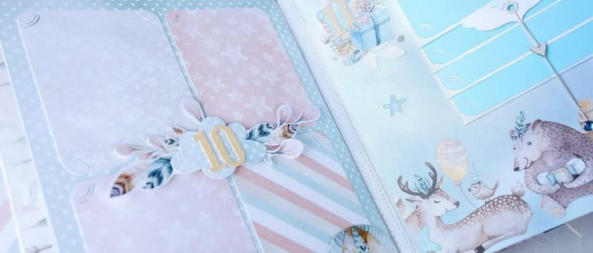VIPETA… VIDEOPROHLÍDKA: Prošívané album pro miminko