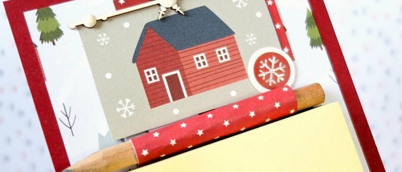 VIPETA...VIDEONÁVOD: Vánoční poznámkové bločky