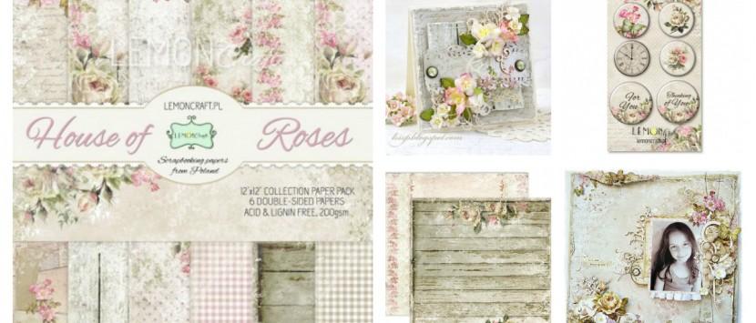 PRÁVĚ VYKVETLO...  Kolekce House of Roses
