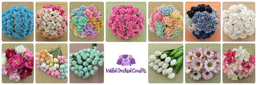 Kytičky Wild Orchid Crafts