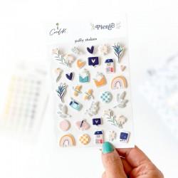 PICNIC - Puffy stickers