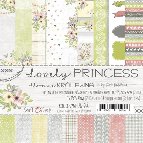 LOVELY PRINCESS - 6 x 6