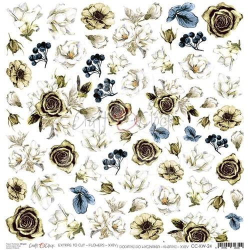LOVELY WHEN YOU SMILE - Obrázky k vystřižení - Flowers XXIV