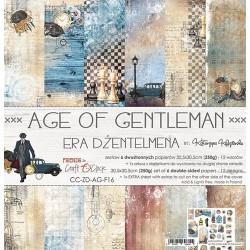 AGE OF GENTLEMAN  - 12 x 12