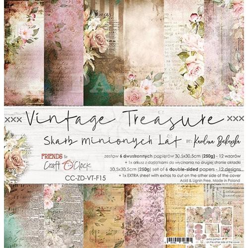 VINTAGE TREASURE - 12 x 12