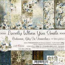 LOVELY WHEN YOU SMILE - 6 x 6