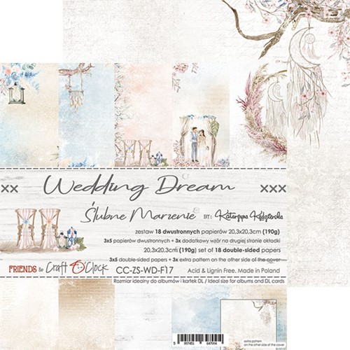 WEDDING DREAM - 8 x 8