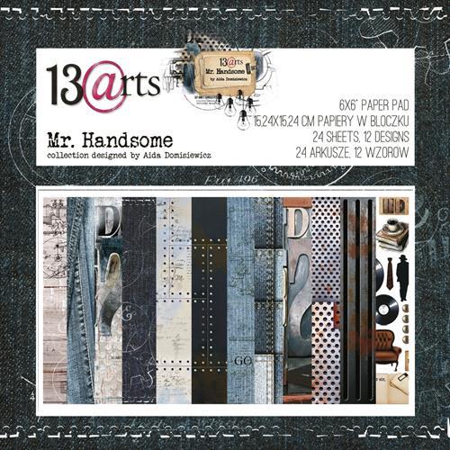 MR. HANDSOME - 6 x 6