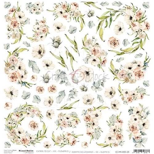 BLOOMING RETREAT - Obrázky k vystřižení - Flowers 6