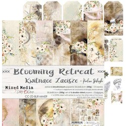 BLOOMING RETREAT - 12 x 12