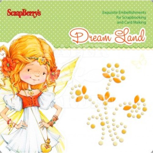 DREAM LAND - Pearl Swirl - Orange