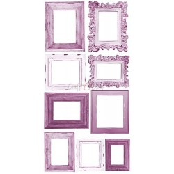 BASIC FLOWER SET - Purple/Fuchsia - 6 x 12