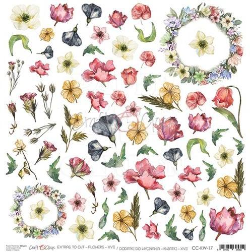 SUMMER CHARM - Obrázky k vystřižení - Flowers XVII