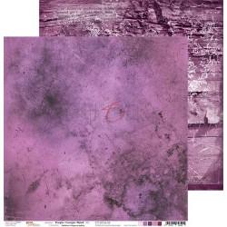 PURPLE-FUCHSIA MOOD - 12 x 12